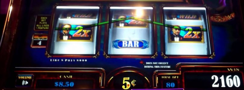 5-cent! — THE GODFATHER Slot Machine — BIG WIN! — Slot Machine Bonus