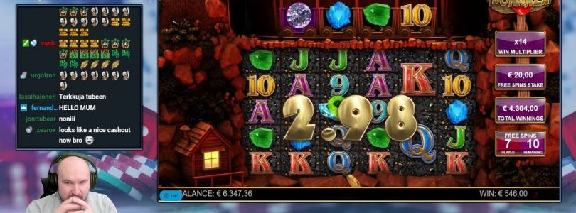 Big Bet!! Really Big Win From Bonanza Slot!!