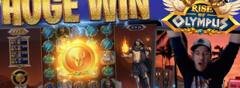 RISE OF OLYMPUS BIG WIN WITH MAX SPINS!