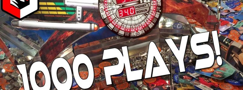 1000 Plays RAPIDFIRE ACTIVATED! Star Trek Coin Pusher BIG WIN!