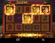 The Falcon Huntress Huge Win 7,50€ Bet- Freespins