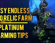 Warframe: EASY ENDLESS RELIC FARM + PLATINUM FARMING TIPS