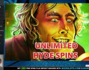 BIG WIN on Dr. Jekyll Goes Wild Slot — BIG BET