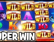SUPER BIG WIN ★ INCREDIBLE DAY OF LIVE GAMBLING ★ WALL TO WALL FUN