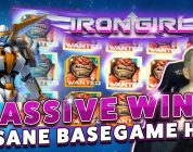 BIG WIN IRON GIRL — HUGE WIN on Casino Game from CasinoDaddy Live Stream
