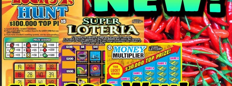 NEW TICKETS! BIG WIN! 1 in 600! $5 Lucky 7's Hunt & $2 Money Multiplier Texas Lottery