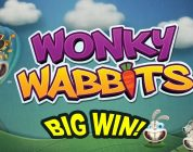 BIG WIN on Wonky Wabbits — £1.80 Bet