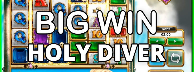 BIG WIN ON HOLY DIVER — NEW BTG SLOT!!!! BASE GAME WIN