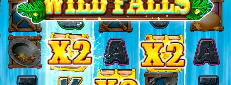 WILD FALLS — SUPER RIVER OF GOLD FREE SPINS — BIG WIN — NEW PLAY'N GO SLOT!!