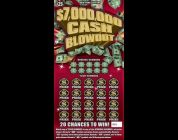 $25 — $7,000,000 CASH BLOWOUT — BIG WIN! Lottery Scratch Off Bengal instant win tickets BIG WIN!