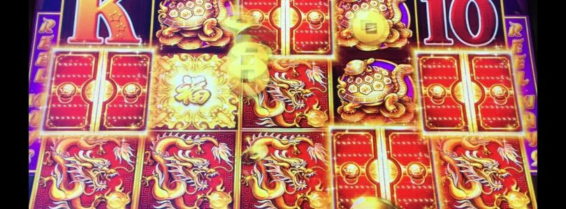 Dragon Link Big Win Bonus & 5 Treasures (RARE) 5 symbol Super Big Win Bonuses