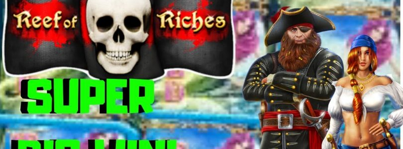 SUPER BIG WIN❗ New Game ⭐Reef of Riches⭐ over 300x bonus❗