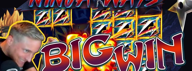 Ninja Ways Big Win — HUGE WIN on Casino Game from CasinoDaddy