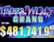 BIG WINS on TIMBER WOLF GRAND SLOT MACHINE POKIES BONUSES  RED ROCK CASINO