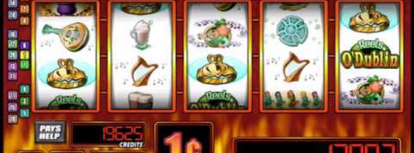 REELS O' DUBLIN Video Slot Casino Game with a «BIG WIN» RETRIGGERED FREE SPIN BONUS