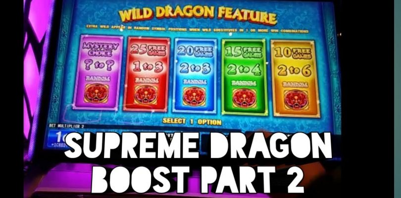 *Slot machine*Supreme dragon boost |bonus | big win|