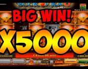 SUPER MEGA BIG WIN X5000 — BOOK OF RA 6 — 70 FREE SPINS BONUS — HUGE WIN!!!