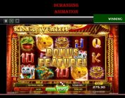 BIG WIN , 150,000.00 in casino game KING of WEALTH !!!