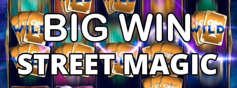 FINALLY A BIG WIN ON STREET MAGIC — PLAY'N GO