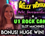 The Candy wasn't SOUR this time! BIG WIN! Rock Candy Slot Machine! Re-Triggers!!
