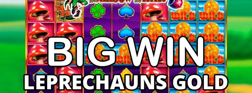 BIG WIN ON RAINBOW RICHES LEPRECHAUNS GOLD — BARCREST
