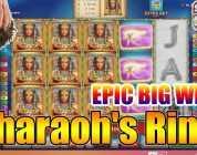 Pharaoh's Ring Slot — EPIC BIG WIN ONLINE SLOTS (online casino)