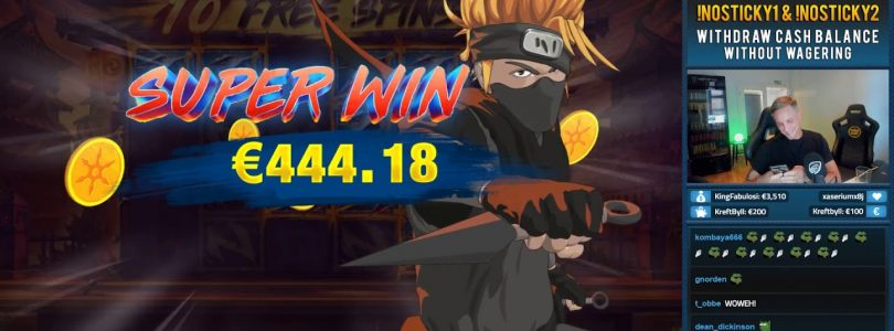 Ninja Ways 399x BIG WIN by CasinoDaddy casino slots