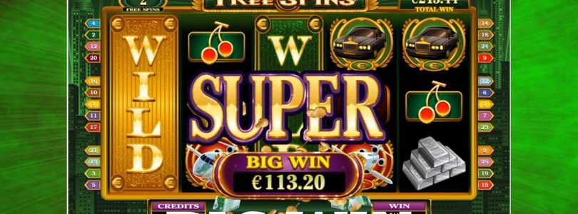 BIG WIN — High Society — Super Wild Reels — Microgaming