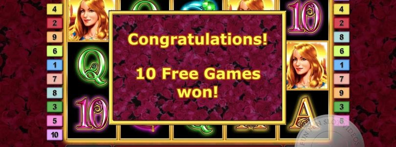 Big win on Garden of Riches, played on OVO Casino, €1 bet
