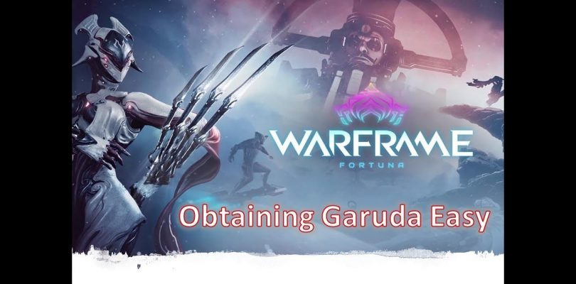 Garuda How To Obtain All Blueprints Easy | Fortuna: Update 24.0 Warframe Walkthrough