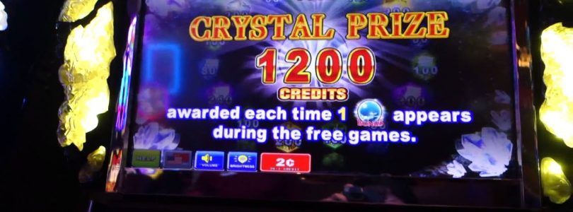 «BIG WIN» Slot Machine / CRYSTAL @ Graton