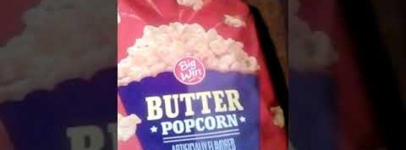 Rite Aid Big Win Butter Popcorn review