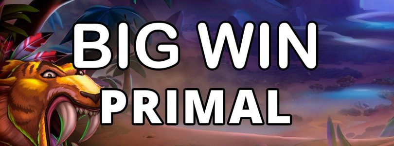BIG WIN ON PRIMAL MEGAWAYS — BLUEPRINT