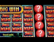 ★FLASHBACK FRIDAY!★ JUNGLE WILD II MONEY BURST & MORE BIG WINS! Slot Machine Bonus Wins
