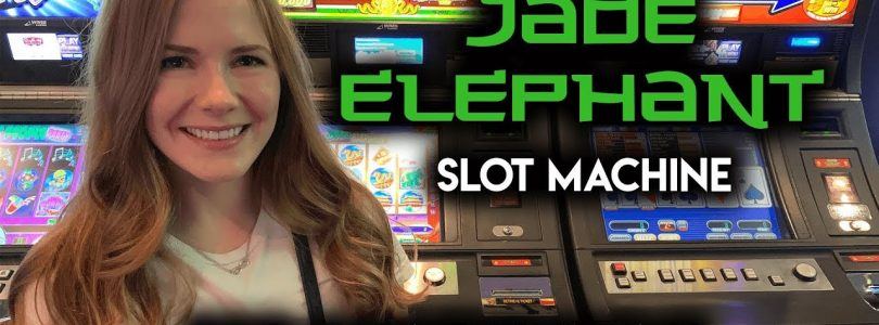 BIG BONUS WIN! Jade Elephant Slot Machine!