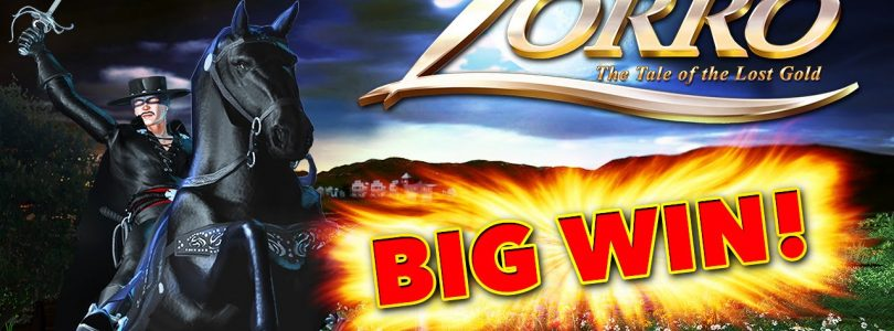 BIG WIN — Zorro The Tale of the Lost Gold