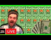 BIG WINS AND SPINS! Lunch Hour Live AT THE CASINO With Your Favorite Youtuber SDGuy1234