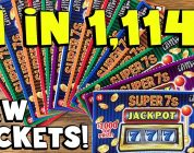**BIG WIN** NEW TICKETS! 20X Super 7s Jackpot! ✦ TEXAS LOTTERY Scratch Off Tickets