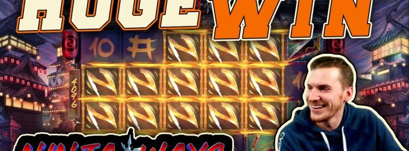 HUGE WIN on Ninja Ways Slot — £4 Bet