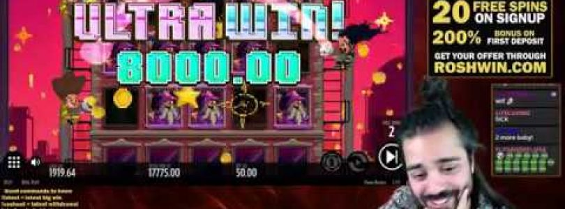 FLAME BUSTERS €27.000 WIN (THUNDERKICK SLOT)