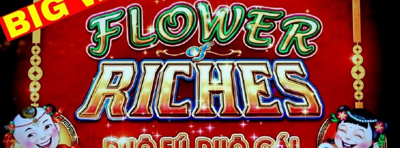 ⭐️BIG WIN⭐️ on Flower of Riches Slot Machine w/$8.80 Max Bet | 88 Fortunes Slot Machine Live Play