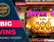 5 big wins by Casino Daddy | Casinodaddy beat the slots, best from online casino