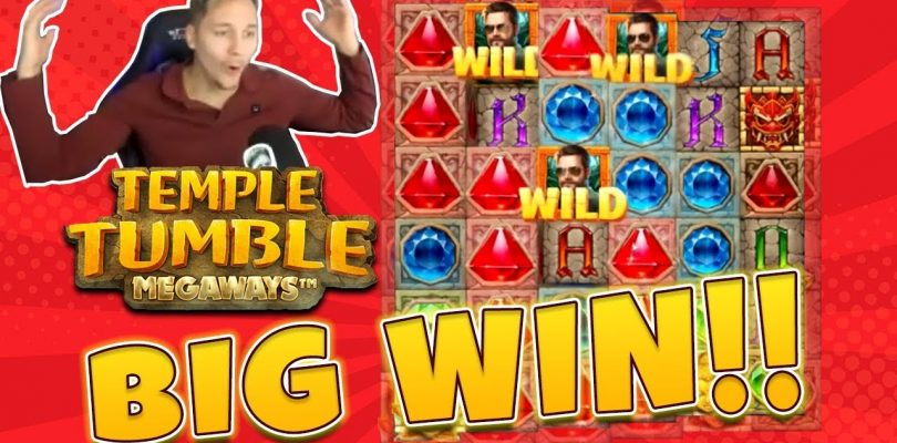 BIG WIN Temple Tumble Megaways — New slot from Relax Gaming — Huge win on Casino Game