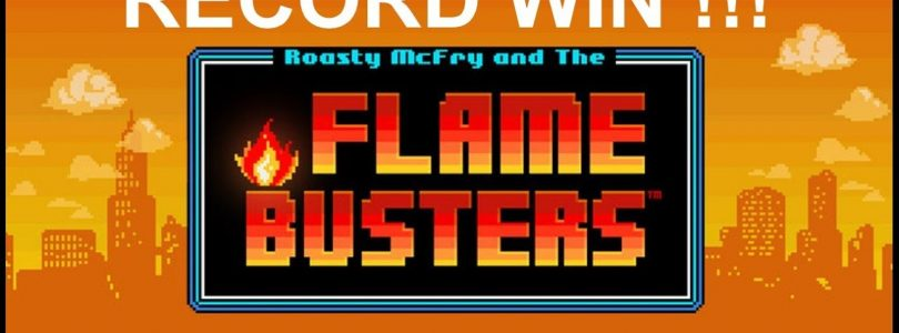 Flame Busters — RECORD MEGA BIG WIN!