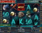 Zombies free spins and BIG WIN