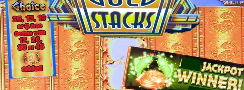 24k GOLD STACKS  ★  SLOT MACHINE LIVE PLAY AND BONUSES ★ BIG WINS ➜ LIVE CASINO ACTION