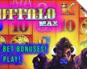 Super Fun Buffalo Max Slot Live Play Session! Big win to start! D-Gen Max Bet Bonuses!