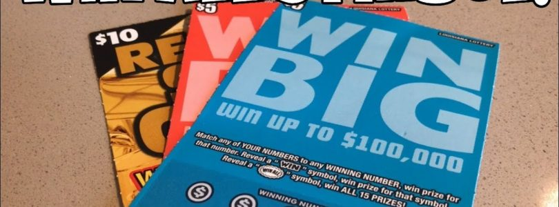 WIN ALL! BIG WIN! $5 Win Big & $10 Ready, Set, Gold Louisiana Lottery