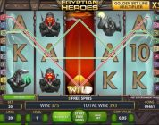 Egyptian Heroes free spins and BIG WIN