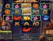 Wild Rockets free spins and BIG WIN